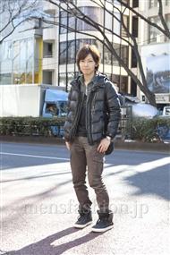 ファッションコーディネート原宿・表参道 2012年02月 入江 誠さん