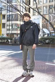 ファッションコーディネート原宿・表参道 2012年02月 辻 純平さん