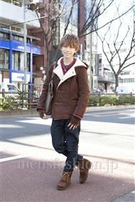 ファッションコーディネート原宿・表参道 2012年02月 花井 陽さん