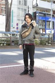 ファッションコーディネート原宿・表参道 2012年02月 青山清志さん