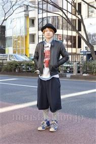 ファッションコーディネート原宿・表参道 2012年02月 ほづみさん