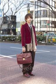 ファッションコーディネート原宿・表参道 2012年02月 大澤一嘉さん