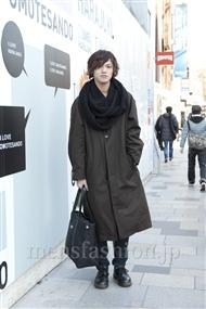 ファッションコーディネート原宿・表参道 2012年02月 伊豆賢太さん
