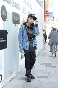 ファッションコーディネート原宿・表参道 2012年02月 藤田純太さん