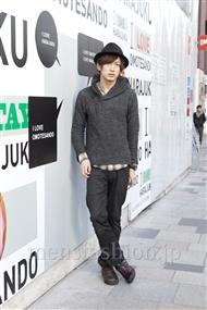 ファッションコーディネート原宿・表参道 2012年02月 玉木 亮さん