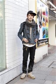 ファッションコーディネート原宿・表参道 2012年02月 伏貫 諒さん