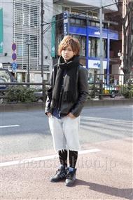 ファッションコーディネート原宿・表参道 2012年02月 栗原拓哉さん