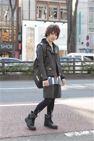 ファッションコーディネート原宿・表参道 2012年02月 ダイキングさん