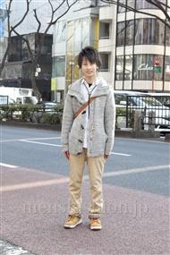 ファッションコーディネート原宿・表参道 2012年02月 池田 翔さん