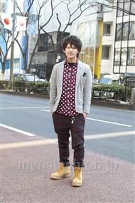 ファッションコーディネート原宿・表参道 2012年02月 稲田優人さん