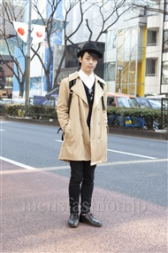 ファッションコーディネート原宿・表参道 2012年02月 武井佑樹さん