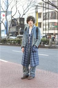 ファッションコーディネート原宿・表参道 2012年02月 田中清寛さん