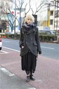 ファッションコーディネート原宿・表参道 2012年02月 北村 諒さん