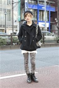 ファッションコーディネート原宿・表参道 2012年02月 こんどうようぢさん