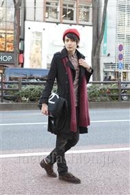 ファッションコーディネート原宿・表参道 2012年02月 斎藤教兵さん