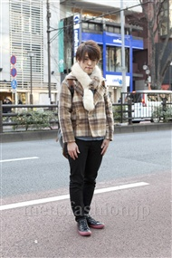 ファッションコーディネート原宿・表参道 2012年02月 宮本啓佑さん