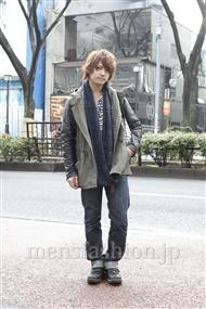 ファッションコーディネート原宿・表参道 2012年03月 寺村優太さん