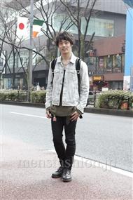 ファッションコーディネート原宿・表参道 2012年03月 武井佑樹さん