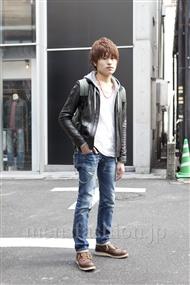 ファッションコーディネート原宿・表参道 2012年03月 鶴見直幸さん