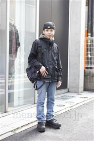 ファッションコーディネート原宿・表参道 2012年03月 佐藤貴龍さん