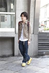 ファッションコーディネート原宿・表参道 2012年03月 増渕雄一さん
