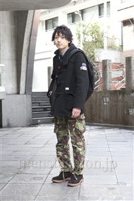 ファッションコーディネート原宿・表参道 2012年03月 辻 純平さん