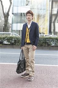 ファッションコーディネート原宿・表参道 2012年03月 くまっきーさん