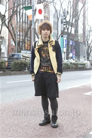 ファッションコーディネート原宿・表参道 2012年03月 新田快広さん