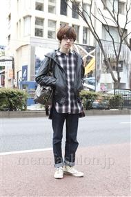 ファッションコーディネート原宿・表参道 2012年03月 浦辻大奨さん