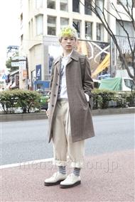 ファッションコーディネート原宿・表参道 2012年03月 岩井拳士朗さん