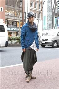 ファッションコーディネート原宿・表参道 2012年03月 シュンスケさん