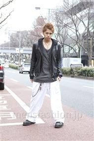 ファッションコーディネート原宿・表参道 2012年03月 高木進之介さん