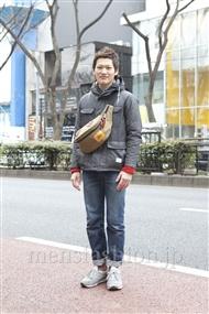 ファッションコーディネート原宿・表参道 2012年03月 ワタベショウマさん