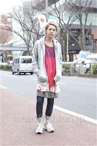 ファッションコーディネート原宿・表参道 2012年03月 カワイコウジさん