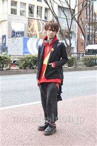 ファッションコーディネート原宿・表参道 2012年03月 夏川登志郎さん