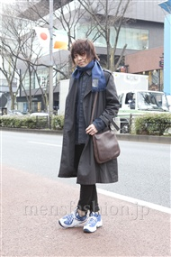 ファッションコーディネート原宿・表参道 2012年03月 桑原 才さん