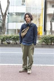 ファッションコーディネート原宿・表参道 2012年03月 青山清志さん