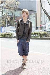 ファッションコーディネート原宿・表参道 2012年04月 深町健哉さん