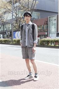 ファッションコーディネート原宿・表参道 2012年04月 山崎裕太さん