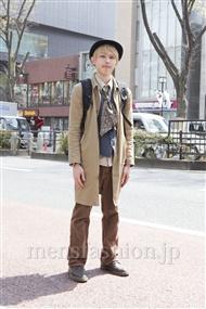 ファッションコーディネート原宿・表参道 2012年04月 大澤一嘉さん