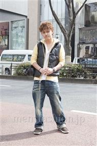 ファッションコーディネート原宿・表参道 2012年04月 馬場翔梧さん