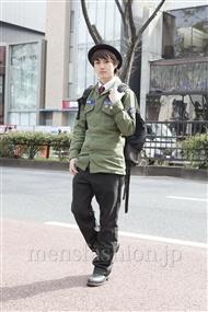 ファッションコーディネート原宿・表参道 2012年04月 根本晋太郎さん