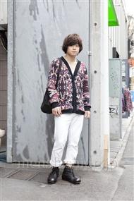 ファッションコーディネート原宿・表参道 2012年04月 石井俊伍さん