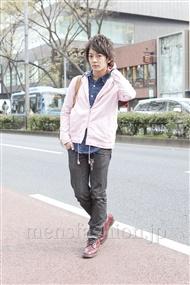 ファッションコーディネート原宿・表参道 2012年04月 大倉士門さん