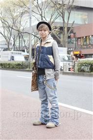 ファッションコーディネート原宿・表参道 2012年04月 佐藤貴龍さん