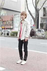 ファッションコーディネート原宿・表参道 2012年04月 岡田匠人さん