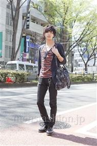 ファッションコーディネート原宿・表参道 2012年04月 飯島彰彦さん