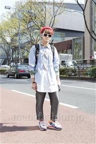 ファッションコーディネート原宿・表参道 2012年04月 菊田 潤さん
