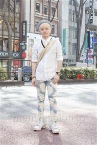 ファッションコーディネート原宿・表参道 2012年04月 浜本忠勝さん