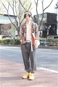 ファッションコーディネート原宿・表参道 2012年04月 スズキタカフミさん